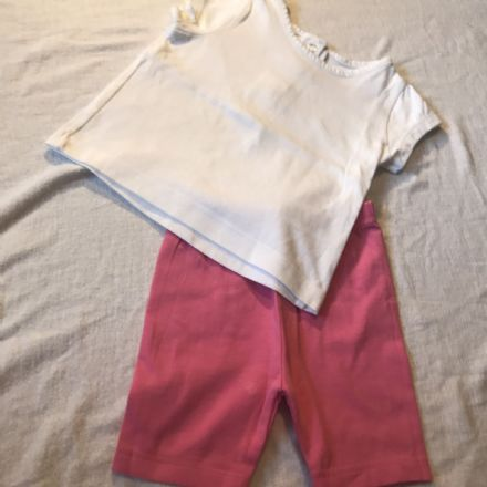 3-6 Month Shorts and Tee